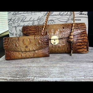 Brahim handbag and matching wallet